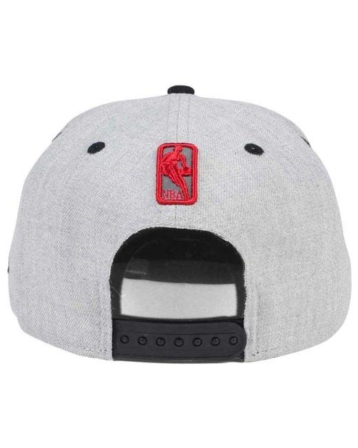 hot sale online e889a 69e1f ... KTZ - Gray Total Reflective 9fifty Snapback Cap for Men - Lyst ...