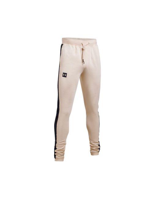 Under Armour - White Men's Sportstyle Fleece Pants for Men - Lyst
