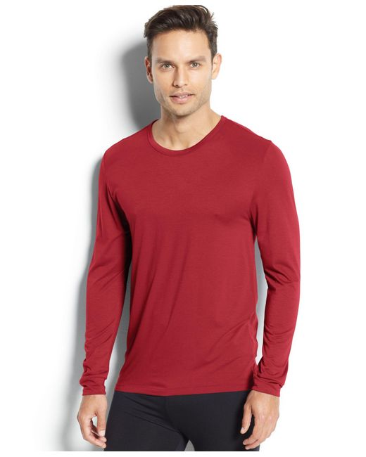 32 Degrees | Purple Heat Long Sleeve Crew Base Layer for Men | Lyst