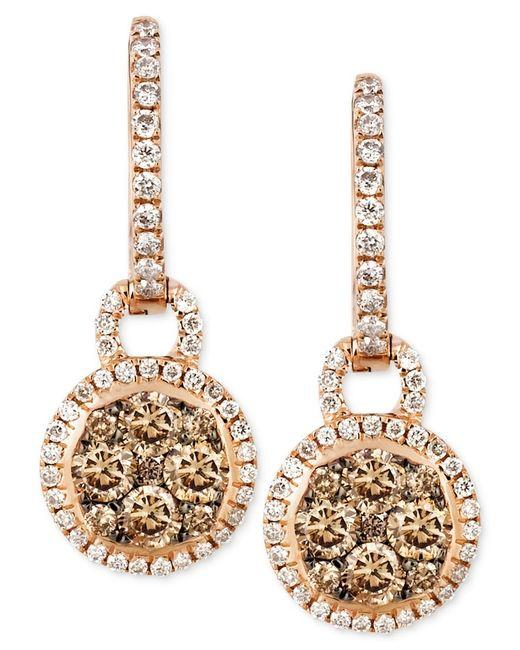 Macy S Chocolate Diamond Earrings