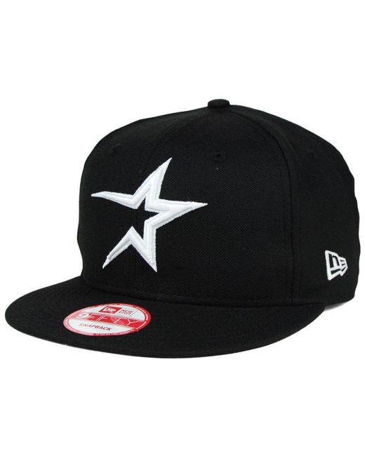 KTZ - Black B-dub 9fifty Snapback Cap for Men - Lyst