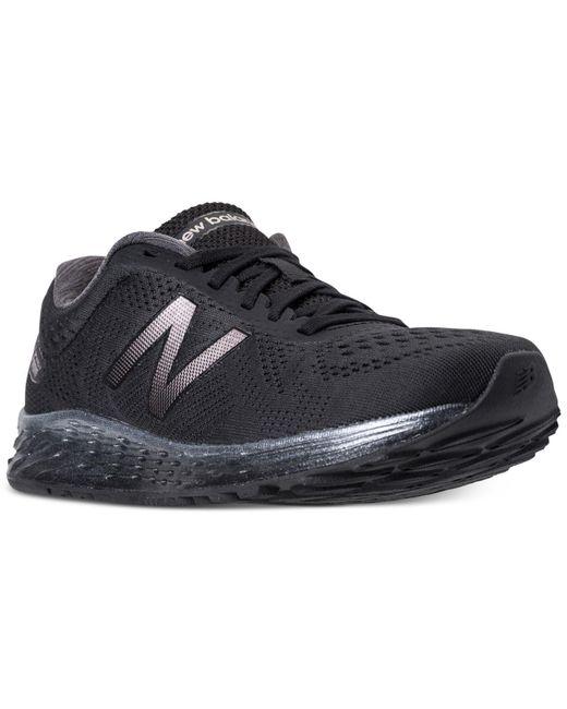 New Balance - Black Women's Fresh Foam Arishi Running Sneakers From Finish Line - Lyst