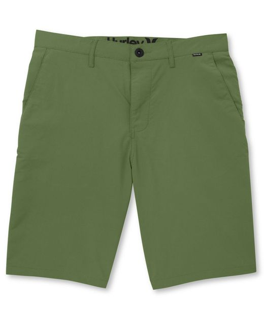 Hurley | Green Men's Dri Fit Chino Shorts for Men | Lyst