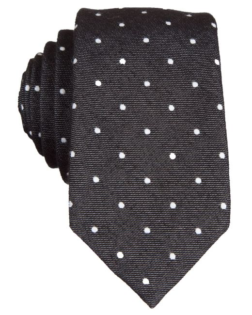 Original Penguin | Black Original Banville Dot Tie for Men | Lyst