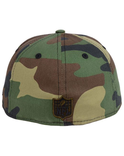 ... KTZ - Green Oakland Raiders Woodland Prism Pack 59fifty-fitted Cap for  Men - Lyst f70670600