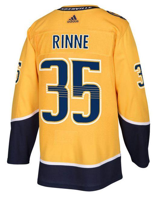 e95addda3 Adidas - Yellow Pekka Rinne Nashville Predators Adizero Authentic Pro  Player Jersey for Men - Lyst ...