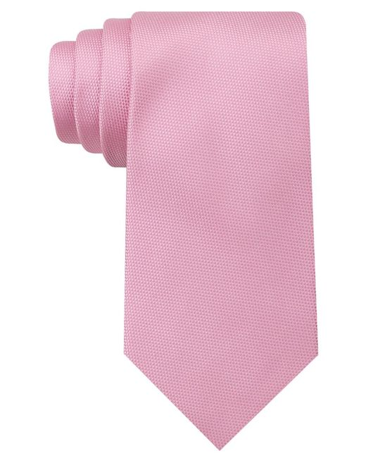 Tommy Hilfiger | Pink Core Oxford Solid Tie for Men | Lyst