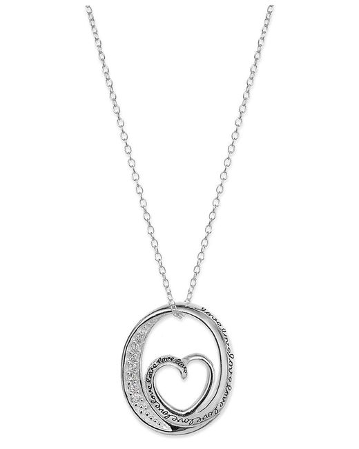 Macy's   Metallic Cultured Golden South Sea Pearl (12mm) And Diamond (1/3 Ct. T.w.) Pendant Necklace In 14k Gold   Lyst