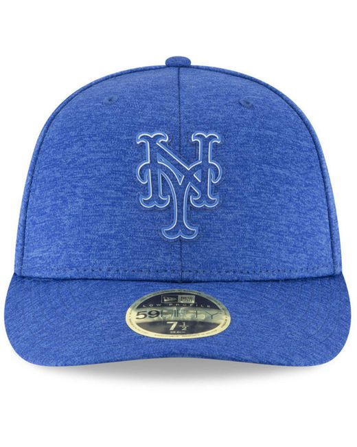23999e8adb8 ... KTZ - Blue New York Mets Clubhouse Low Crown 59fifty Fitted Cap for Men  - Lyst ...