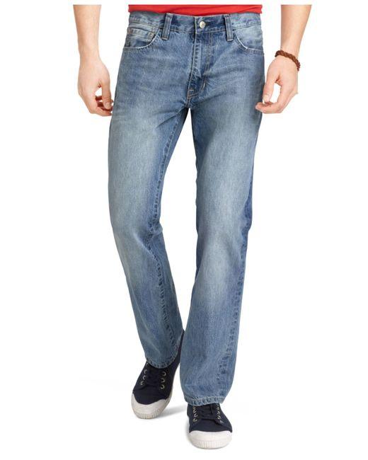 Izod   Blue Regular-fit Jeans for Men   Lyst