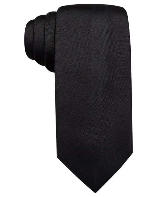 Vince Camuto | Black Isabella Solid Slim Tie for Men | Lyst