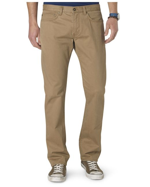 Dockers Jean Cut Straight Fit Pants D2 In Natural For Men