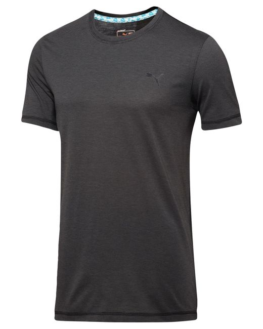PUMA | Gray Men's Essential T-shirt for Men | Lyst