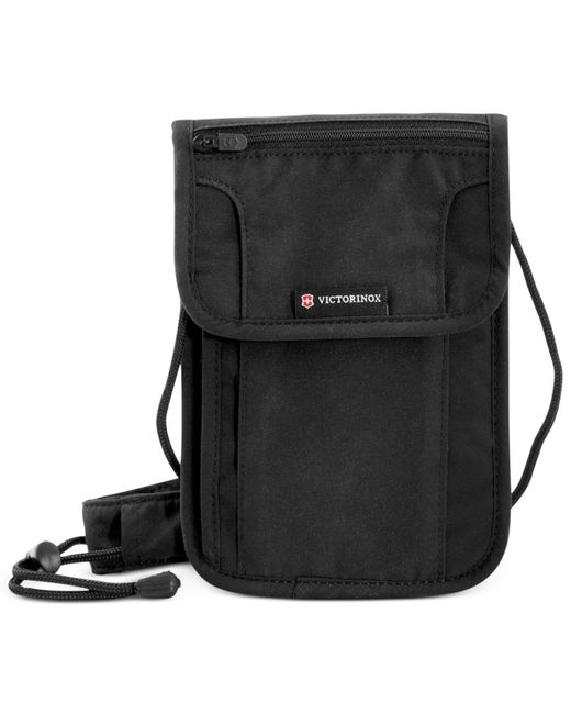 Victorinox | Black Deluxe Concealed Security Pouch With Rfid Protection | Lyst