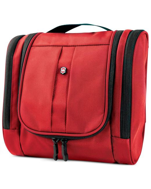 Victorinox | Red Hanging Travel Toiletry Kit for Men | Lyst
