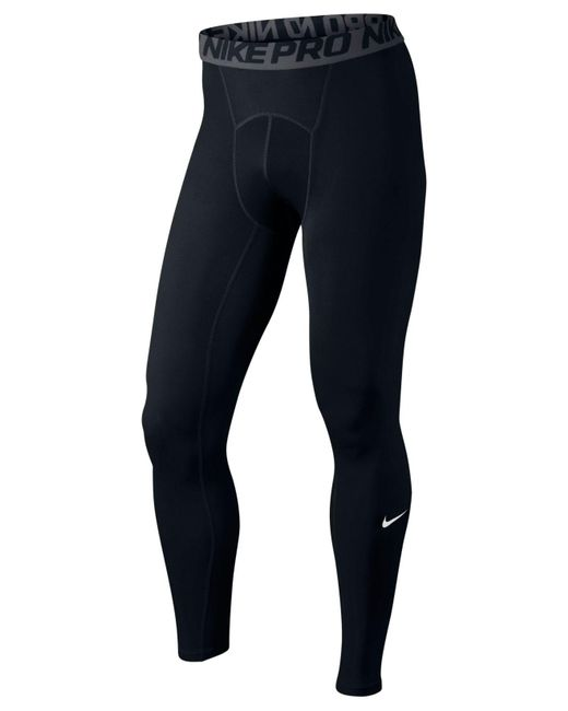 Nike | Black Pro Dri-fit Compression Performance Tights for Men | Lyst