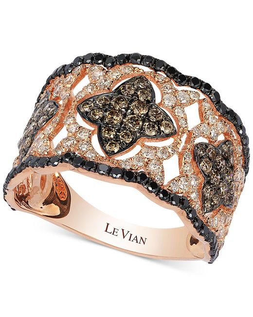 Le Vian | Pink Diamond Vintage-inspired Ring In 14k Rose Gold (1-1/3 Ct. T.w.) | Lyst