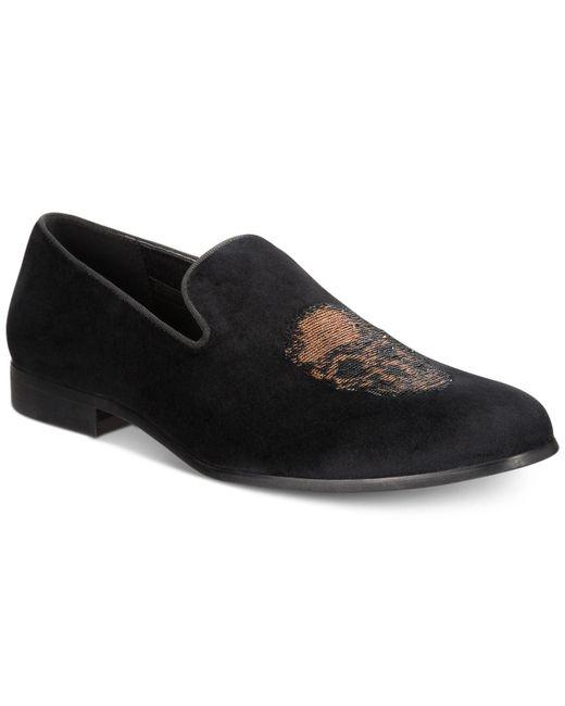 INC International Concepts - Black Nova Velvet Slippers, Created For Macy's for Men - Lyst