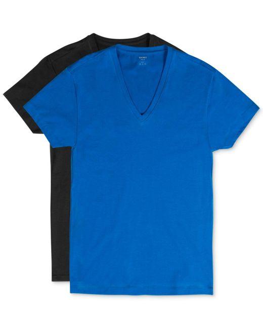 2xist | Blue Men's Cotton Stretch Short-sleeve V-neck T-shirt 2-pack for Men | Lyst