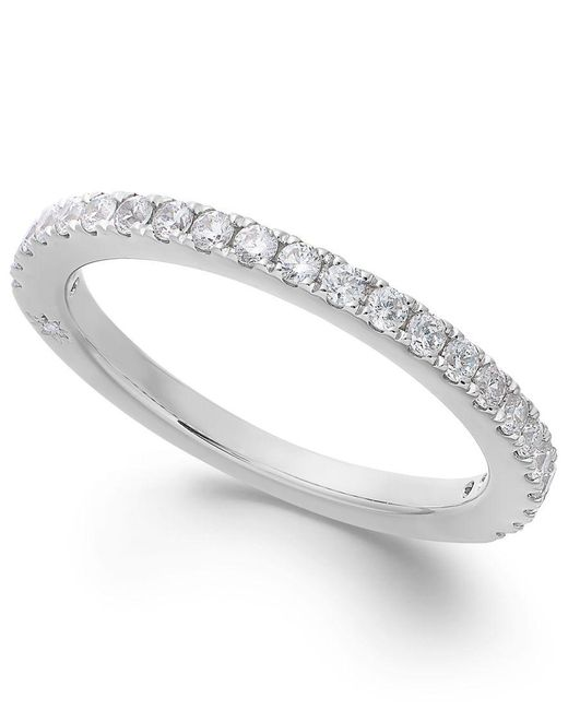 Marchesa | Diamond Band By In 18k White Gold (3/8 Ct. T.w.) | Lyst