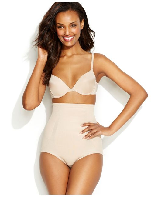 Miraclesuit | Natural Extra Firm Shape Away High Waist Brief 2915 | Lyst