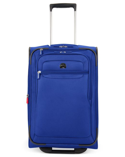 "Delsey | Blue Helium Fusion 29"" Expandable Spinner Suitcase for Men 