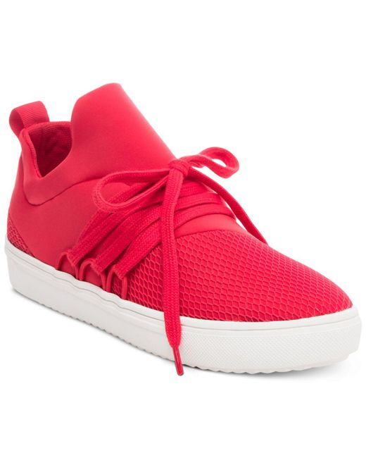Steve Madden   Red Women's Lancer Athletic Sneakers   Lyst