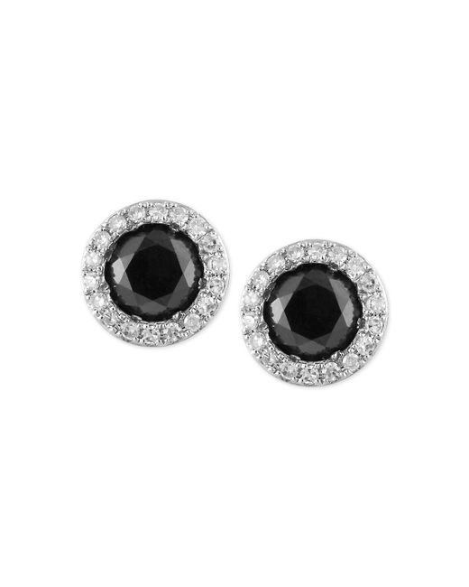 Effy Collection - Metallic Effy® Diamond Halo Stud Earrings (9/10 Ct. T.w.) In 14k White Gold - Lyst