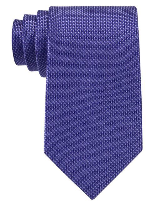 Michael Kors - Blue Tie, Sorento Solid for Men - Lyst