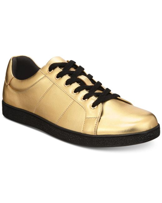 INC International Concepts - Orion Metallic Low-top Sneakers, Created For Macy's for Men - Lyst