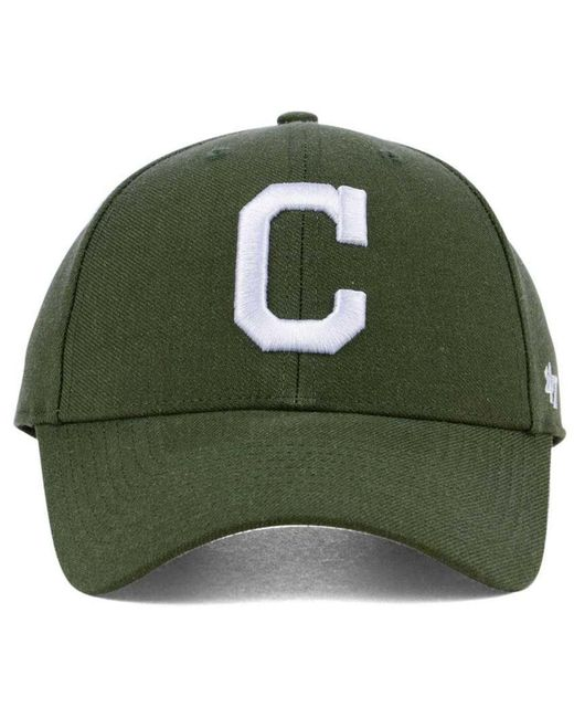 f7f3b0c5e0d ... 47 Brand - Green Cleveland Indians Core Mvp Cap for Men - Lyst ...