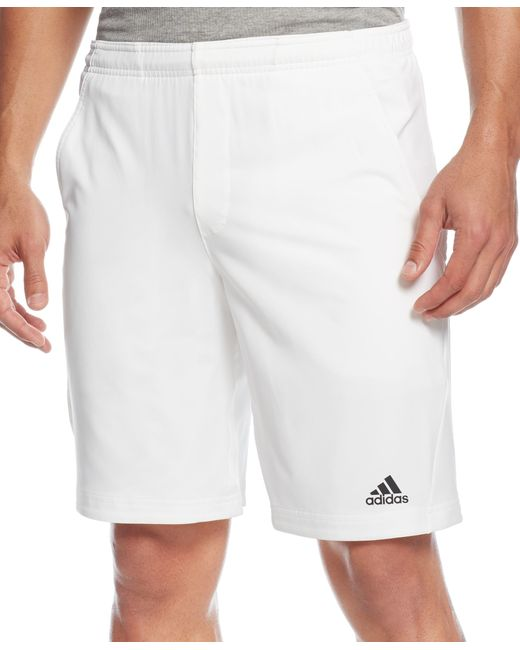 Adidas Originals | White Men's Climalite Ts Essex Shorts for Men | Lyst