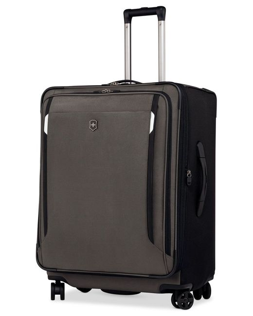 "Victorinox | Green Victorinox Werks Traveler 5.0 27"" Expandable Dual Caster Spinner Suitcase for Men 