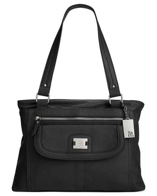 Style & Co. | Black Yassimen Satchel, Only At Macy's | Lyst