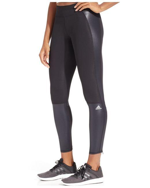 Adidas Originals   Black Supernova Climacool Leggings   Lyst