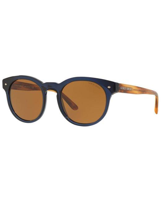 Giorgio Armani | Blue Sunglasses, Ar8055 51 for Men | Lyst
