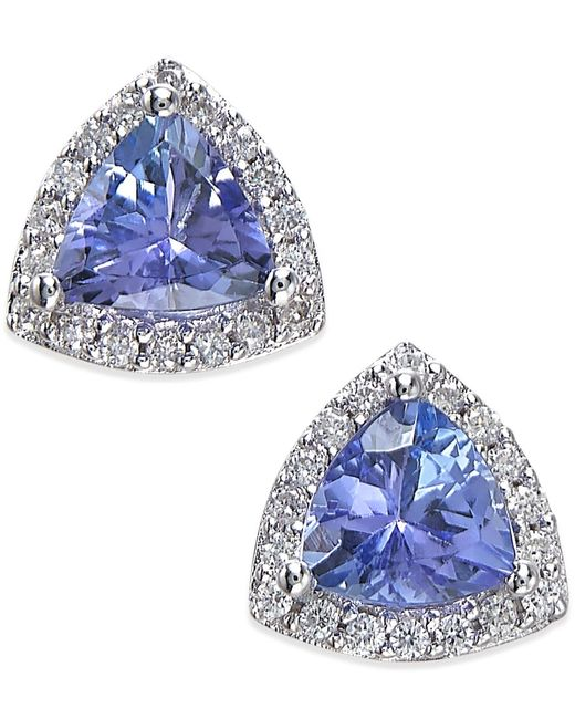 Effy Collection Effy Tanzanite 3 4 Ct T W And Diamond
