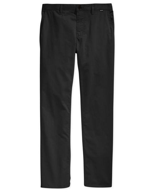 Hurley   Black Men's Solid Dri-fit Pants for Men   Lyst