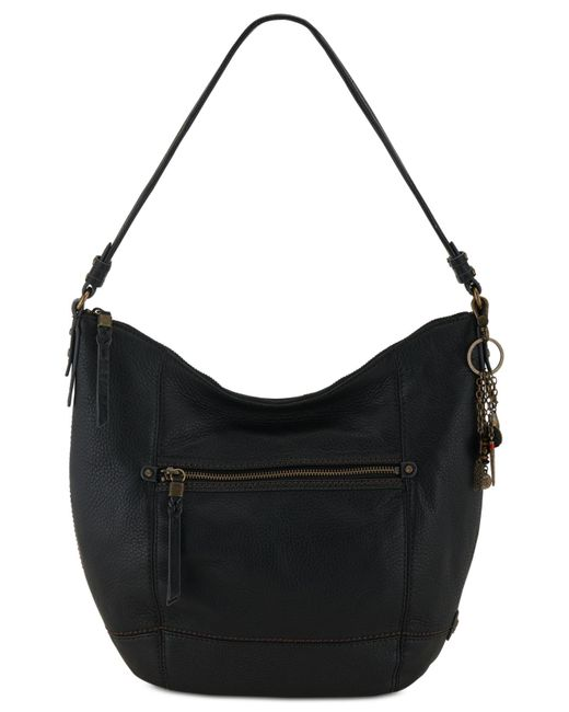 The Sak | Black Sequoia Leather Hobo | Lyst