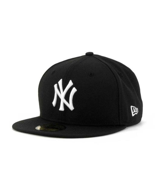 a8c85cb3699 KTZ - Black New York Yankees Prolite Gold Out 59fifty Fitted Cap for Men -  Lyst ...