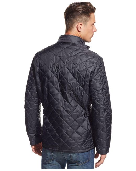 Barbour Flyweight Chelsea Jacket in Blue for Men - Save 14% | Lyst : barbour chelsea quilted jacket mens - Adamdwight.com
