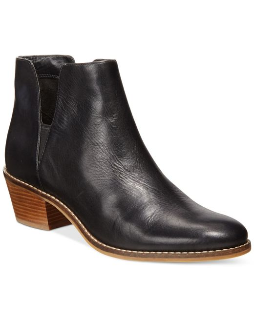 Cole Haan | Black Abbot Ankle Booties | Lyst