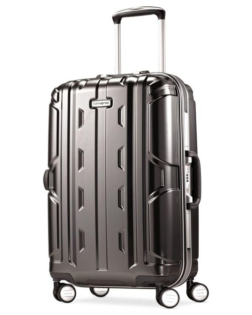 "Samsonite | Gray Cruisair Dlx 21"" Carry-on Hardside Spinner Suitcase for Men | Lyst"