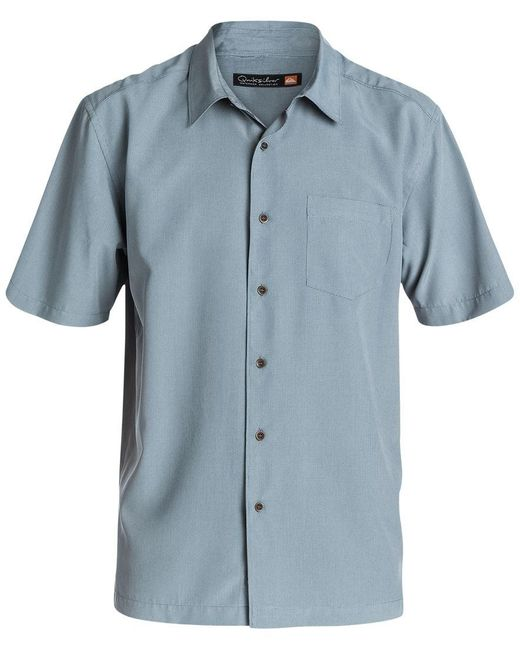 Quiksilver | Gray Waterman Cane Island Small Check Shirt for Men | Lyst