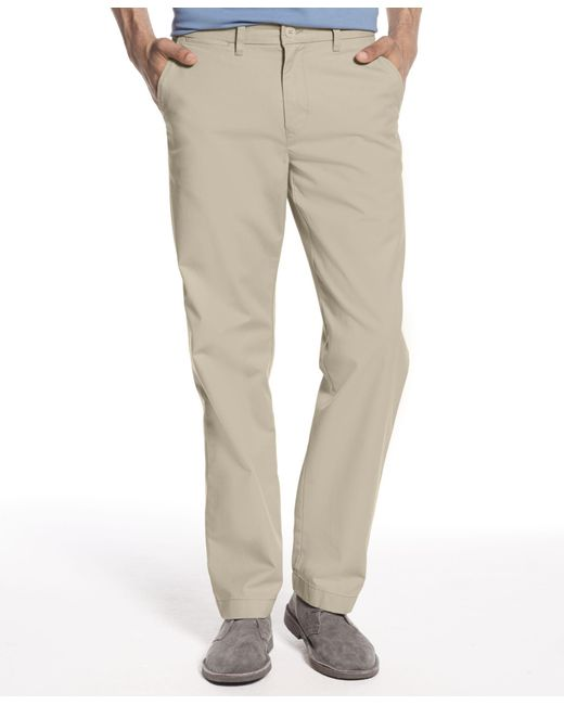 Tommy Hilfiger | Natural Men's Classic-fit Chino Pants for Men | Lyst