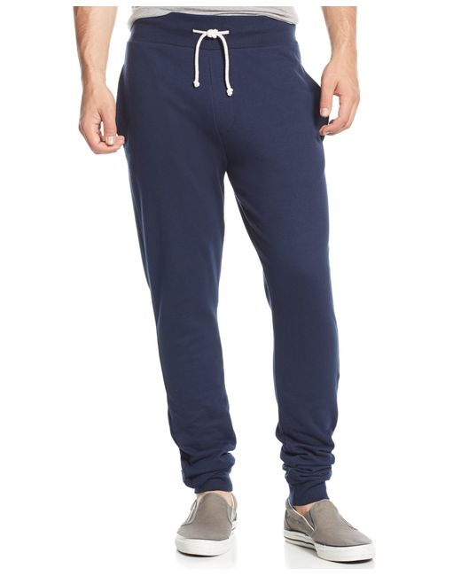 American Rag | Blue Men's Solid Knit Joggers for Men | Lyst