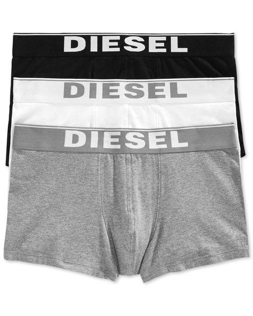 DIESEL | Black Kory Men's Trunks 3-pack for Men | Lyst