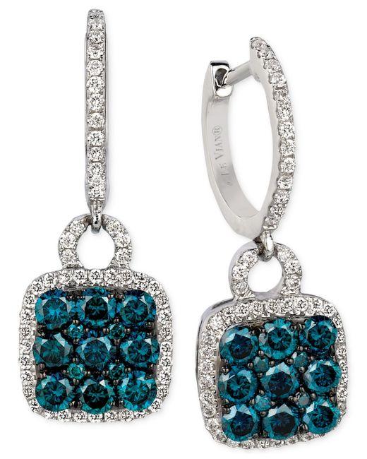 Le Vian | Exotics® Diamond Blue Earring (1 Ct. T.w.) In 14k White Gold | Lyst