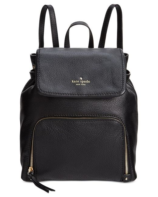 kate spade new york | Black Cobble Hill Charley Backpack | Lyst