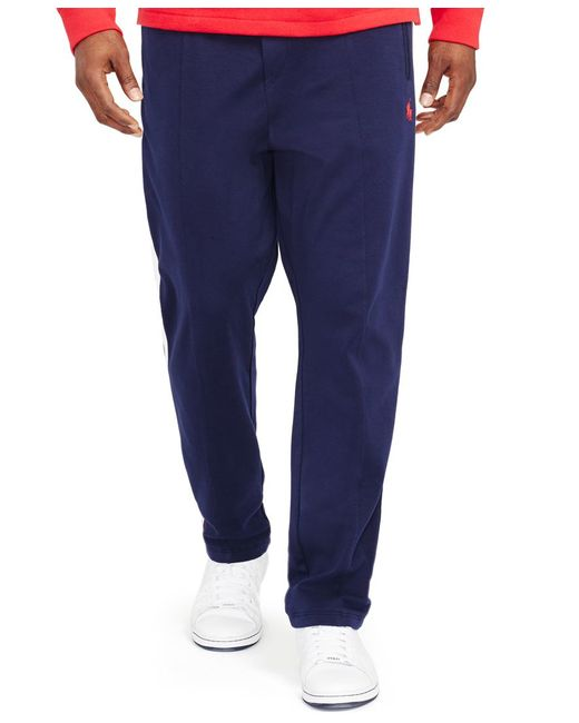 Polo Ralph Lauren   Blue Big & Tall Interlock Track Pants for Men   Lyst